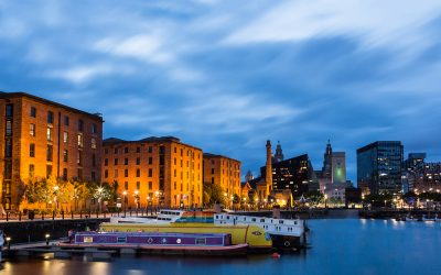 Easter at Liverpool's Albert Dock