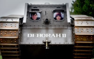 Fancy getting up close to a WW1 tank?