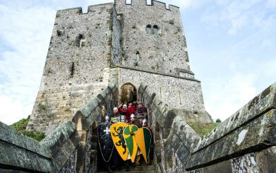 Knights at Arundel Castle