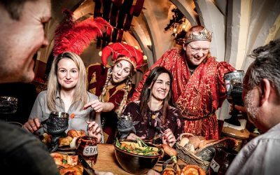 Feast this Christmas at Warwick Castle