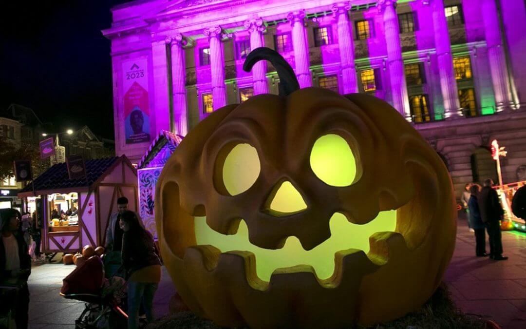 Halloween on the streets of Nottingham