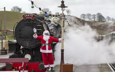 Join Santa on the Churnet Valley Railway