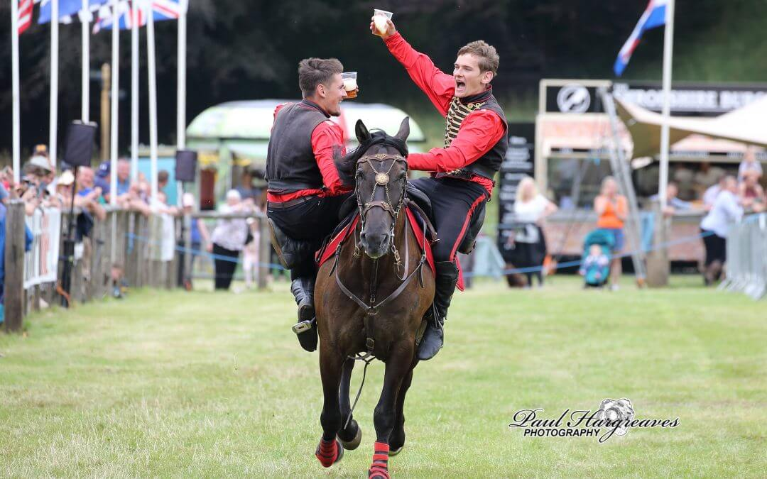 Trick riding comes to Kent County Show